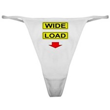 Wide-Load-T-Shirt-Light_vectorized Classic Thong