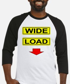 Wide-Load-T-Shirt-Light_vectorized Baseball Jersey
