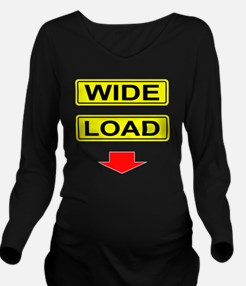 Wide-Load-T-Shirt-Da Long Sleeve Maternity T-Shirt