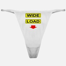 Wide-Load-T-Shirt-Dark_vectorized Classic Thong