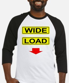 Wide-Load-T-Shirt-Dark_vectorized Baseball Jersey