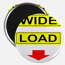 Wide-Load-T-Shirt-Dark_vectorized Magnet