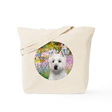 J-ORN-Garden-Westie-P Tote Bag
