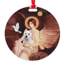 J-ORN-Angel1-Westie-P Ornament