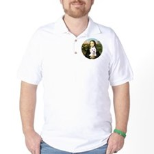 J-ORN-MonaLisa-Westie-11 T-Shirt