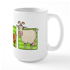 3 goats Mug