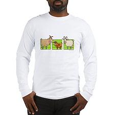 3 goats Long Sleeve T-Shirt