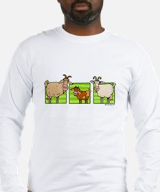 3 goats Long Sleeve T-Shirt