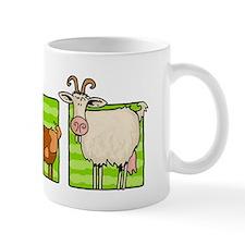 3 goats Small Mug