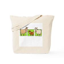 3 goats Tote Bag