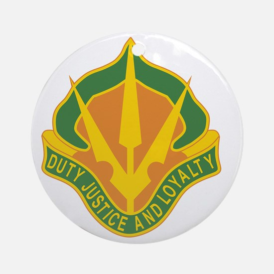 15th Military Police Brigade DU Round Ornament