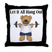Let it Hang Out Throw Pillow