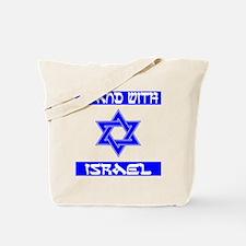 StandWithIsraelFlag Tote Bag