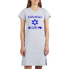 StandWithIsraelFlag Women's Nightshirt