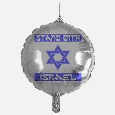 StandWithIsraelFlag Balloon