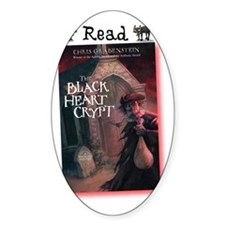 Read The Black Heart Crypt Decal
