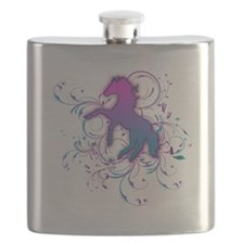 Pink Horse Flask