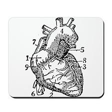 Heart Mousepad