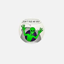 alien-taze-1 Mini Button