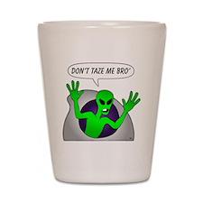 alien-taze-1 Shot Glass