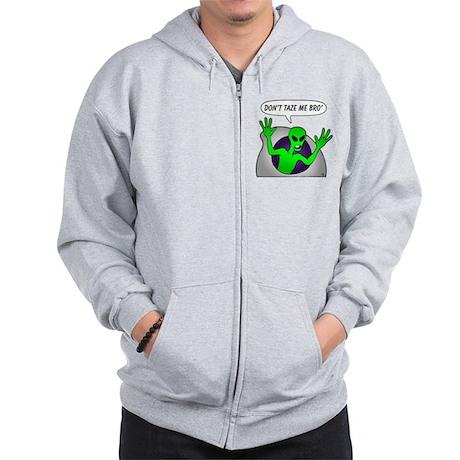 alien-taze-1 Zip Hoodie