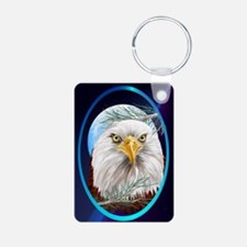 ornament_ovalEagle In The  Keychains