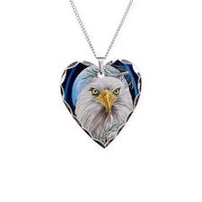 ornament_ovalEagle In The Pin Necklace