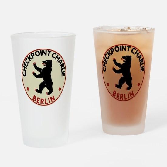 checkpointcharliedark Drinking Glass