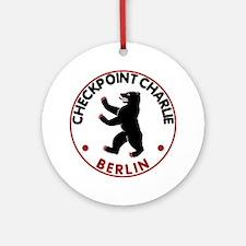 checkpointcharlietran Round Ornament