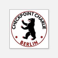 "checkpointcharlietran Square Sticker 3"" x 3"""