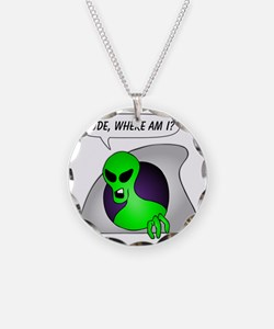 alien-lost-6a Necklace Circle Charm