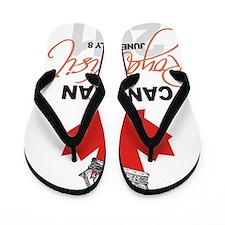 Canadian Royal Visit 1 Flip Flops
