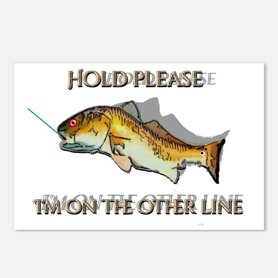 Unique Inshore fishing Postcards (Package of 8)