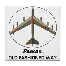 B-52-Peace Tile Coaster