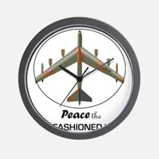 B-52-Peace Wall Clock
