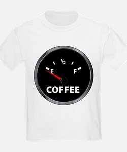 Out of Coffee Kids T-Shirt