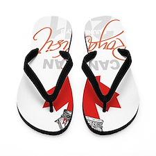 Canadian Royal Visit 2 Flip Flops