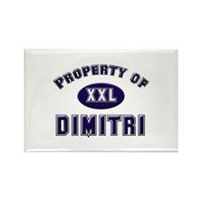 Property of dimitri Rectangle Magnet