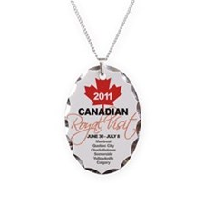 Canadian Royal Visit 5 Necklace