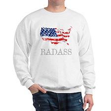 AmericanBadass_DrkShrt Sweatshirt