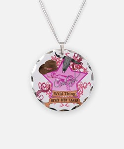 CowGirl Wild Thing never bee Necklace