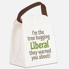 Tree Hugging Liberal Canvas Lunch Bag