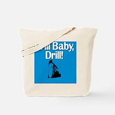 drillbabydrill_cp lic plate Tote Bag