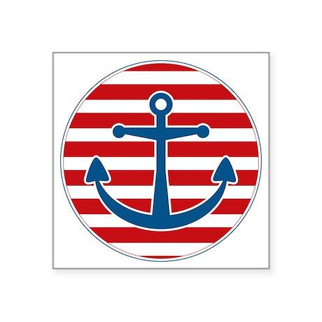 """sailoranchor Square Sticker 3"""" x 3"""""""