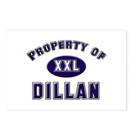 Property of dillan Postcards (Package of 8)