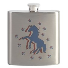 American Horse Flask