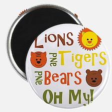 lionstigersbears Magnet