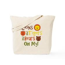 lionstigersbears Tote Bag