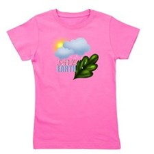Save Earth Girl's Tee