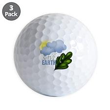 Save Earth Golf Ball